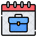 Business Working Day Icon