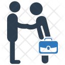 Business Deal Handshake Icon