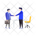 Business Deal Agreement Contract Icon
