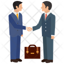 Business Deal Agreement Partnership Icon