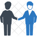 Hand Shake Agreement Contract Icon