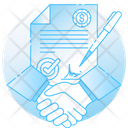 Commitment Contract Agreement Icon