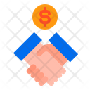 Contract Handshake Money Icon