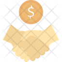 Business Deal Partnership Agreement Icon
