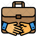 Hand Shake Hands Deal Icon