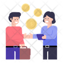 Financial Deal Business Deal Business Agreement Icon