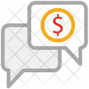 Business Dealing Conversation Icon