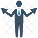 Business Direction Solution Icon