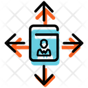 Business Decision Guide Worker Performance Ability Icon