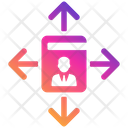 Business Decision Guide Management Leader Icon