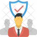 Business Defense Stability Icon