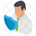 Business Defense Business Stability Business Insurance Concept Icon