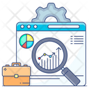 Business Development Business Analysis Web Analytics Icon