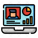 Business Diagram Laptop Icon