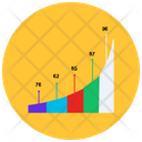 Business Diagram Infographic Percentage Graph Icon