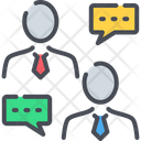 Business Dialog Business Chat Icon