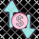 Business Direction Directional Arrow Upward Arrow Icon