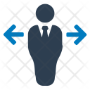 Arrows Businessman Choice Icon