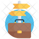 Business Direction Business Navigation Business Way Icon