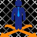 Direction Man Alternatives Icon