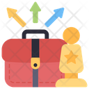 Business Directions Business Paths Business Strategy Icon