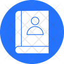 Business Directory Contacts Phone Book Icon