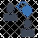 Discussion Communication Conversation Icon