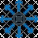 Business Diversification Icon
