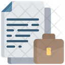 Business Document Finances Note Icon
