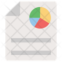 Business Document Analytics Statistics Icon
