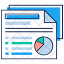 Business Document Business Report Stats Report Icon