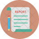 Business Document Business Statement Business Summary Icon