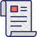 Business Document Document Folded Paper Icon