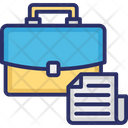 Business Document Business Paperwork Businessman Case Icon