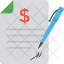 Business Agreement Contract Icon