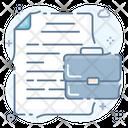 Paperwork Documents Documentation Icon