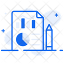 Business Document Business Chart Business Report Icon