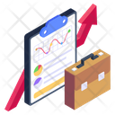 Statistics Report Business Report Business Document Icon