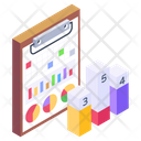 Business Chart Business Document Statistical Report Icon