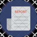 Business Document Business Statement Business Summary Icon