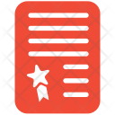 Business Contract Plan Icon