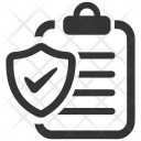 Business Document Insurance Icon