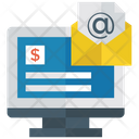 Business Email Electronic Mail Financial Email Icon