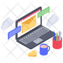 Business Email Electronic Mail Mail Box Icon
