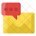 Business Email Electronic Message Written Correspondence Icon