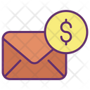 Memail Bills Business Email Dollar Business Icon