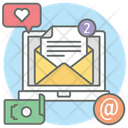 Business Email Electronic Mail New Message Icon