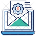 Business Email Setting Communication Concept Business Communication Icon