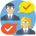 Business Evaluation Icon