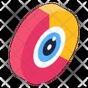 Marketing Eye Data Eye Data Monitoring Icon